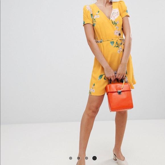 b45dfd1f9eba8 River Island Dresses | Petite Floral Print Tea Dress | Poshmark